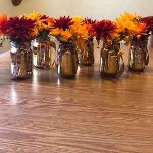 FALL FLORAL CENTERPIECES (6)